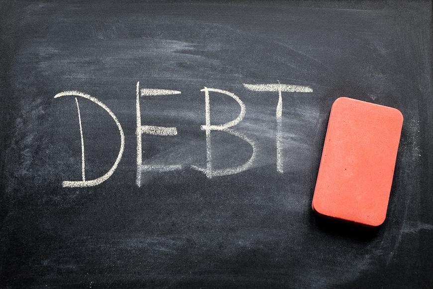 Cancellazione debiti